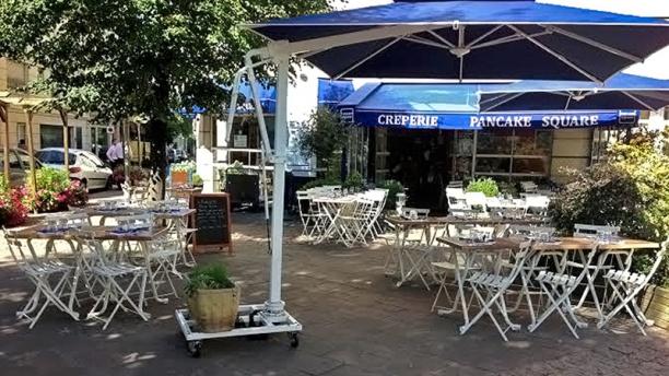 Pancake Square Vue terrasse