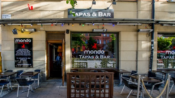 Mondo Tapas and Bar Exterior