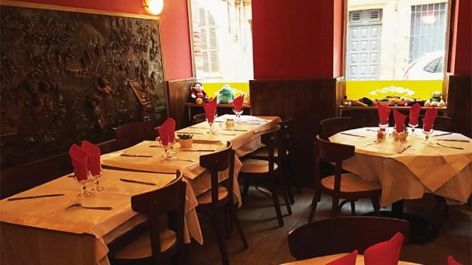 Salle du restaurant - Bon Bhojon, Toulouse
