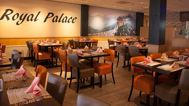 Wok Royal Palace Restaurantzaal