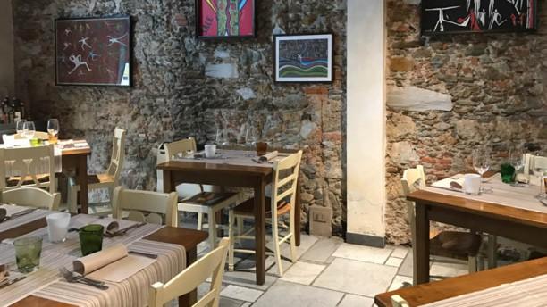 La Volpe e L'Uva Salone ristorante