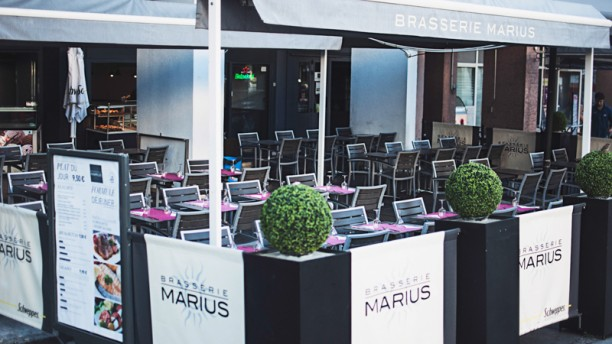 Brasserie Marius terrasse