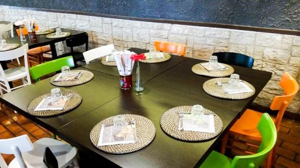 L'Anfora particolare tavolo