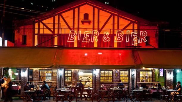 Bier & Bier Choperia fachada do restaurante