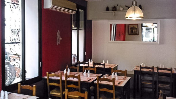 Chez Didier et Brigitte Salle du restaurant