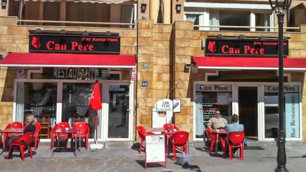 Can Pere Vista entrada