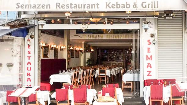 Semazen Kebap & Grill House Entrance