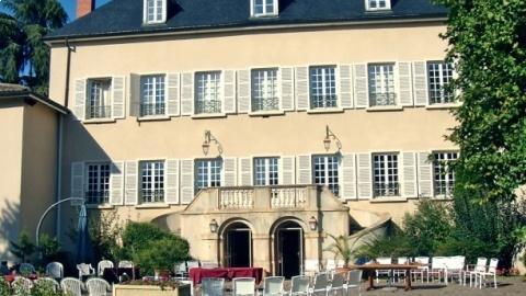 restaurant - Château des Loges - Arbuissonnas