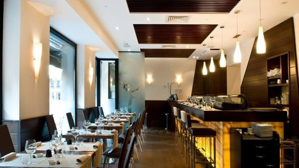 Hana Restaurant Vista sala