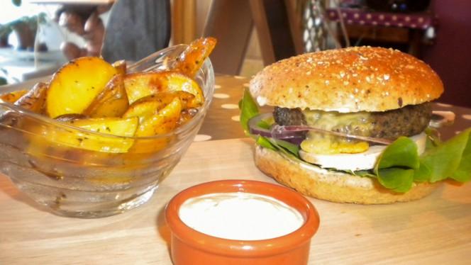 Veggie Burger - Chez Eve Restaurant BIOn, Aix-en-Provence