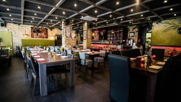 Restaurant Olijfje restaurantzaal