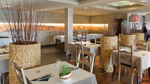 Restaurant Cyril Attrazic - Chez Camillou Vue de la salle