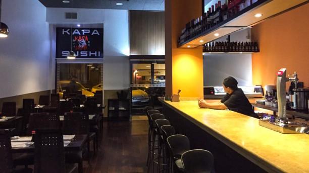 Kapa Sushi Vista de la sala