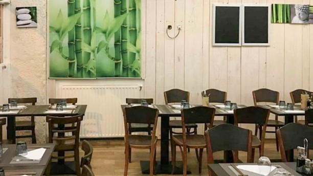 Le Bambou Vert Vue de la salle