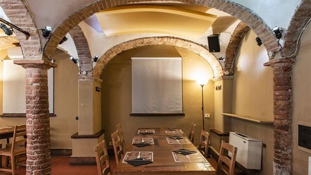 Ratafià Pizza e Bontà Vista della sala