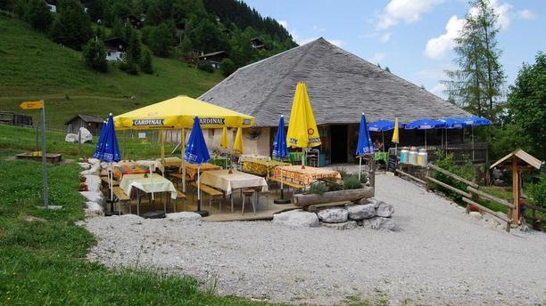 La Fromagerie d'Alpage Terrasse