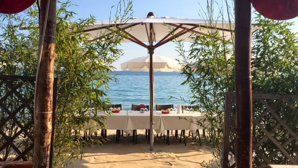 Epi Beach Vue de la terrasse