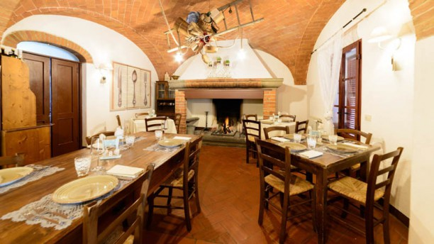 La Locanda | Food & Restaurant Vista sala