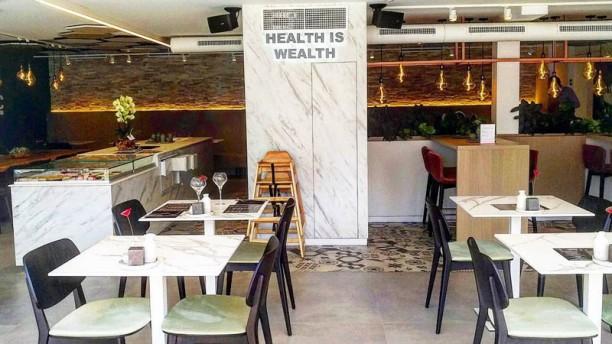Organic Vision Restaurant & Wellness Salle