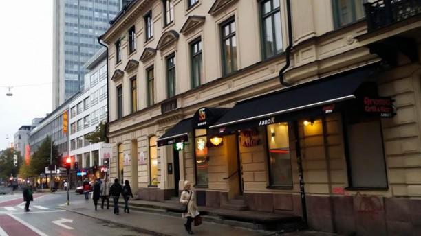 Aroma Grill & Bar Entrance