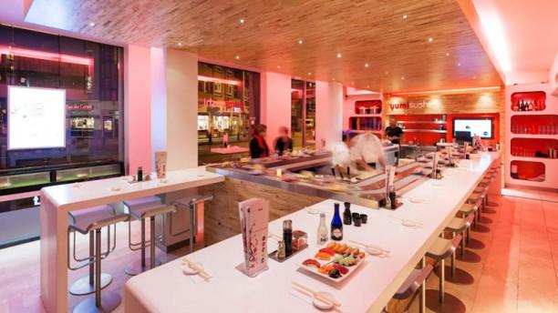 yumi sushi Het restaurant