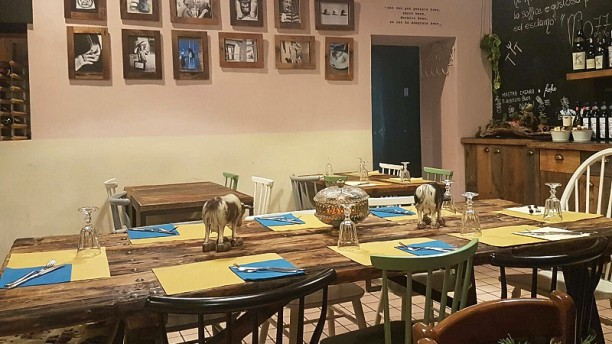 Mastro Casaro Sala del ristorante