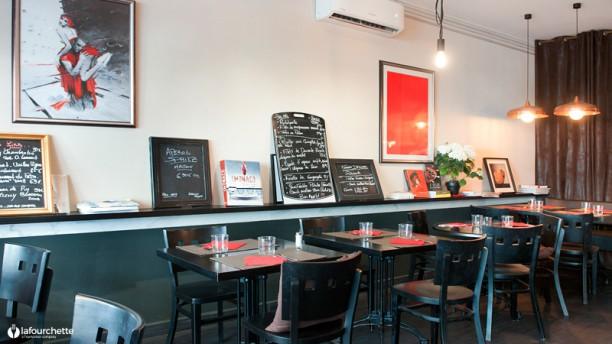 Café Léa Salle du restaurant