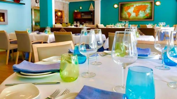 Caché Restaurante Bar Vista de la sala