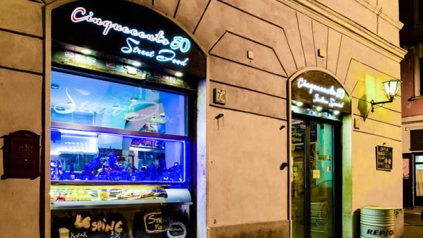 Cinquecento50 Polpetteria Pizzeria Entrata