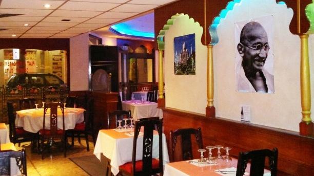 Gandhi Nagar Salle du restaurant