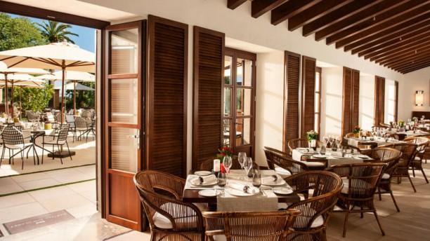 Olivera - Castell Son Claret Sala del Restaurante