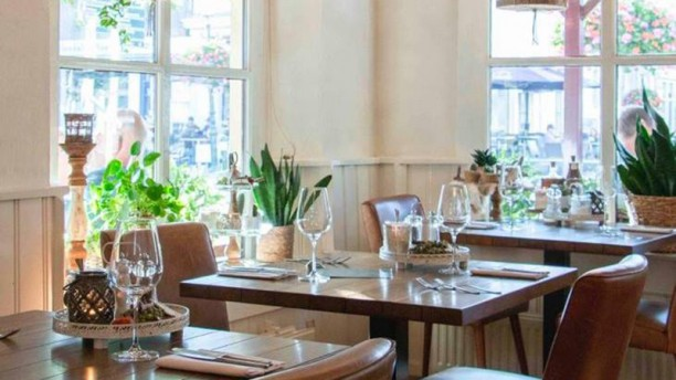 't Olde Regthuys Het restaurant