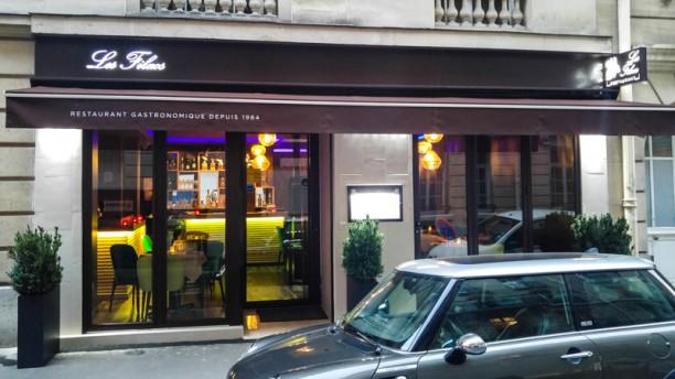 Les Filaos Façade restaurant