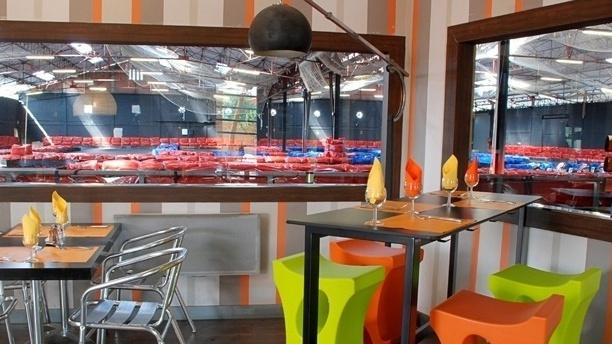 Karting Café Aperçu de l'intérieur