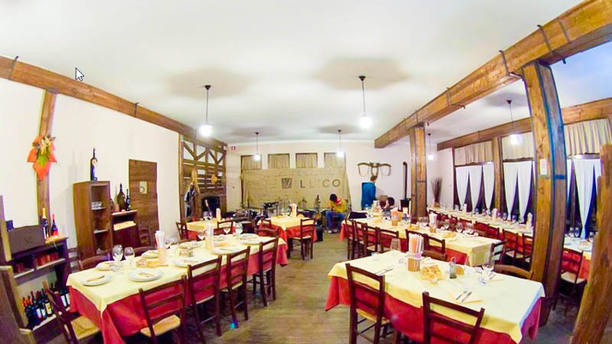 La Taverna del Villico La sala