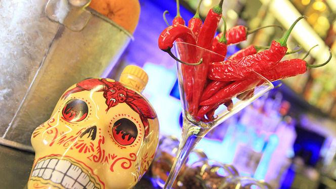 Detalle decoración - Mexcla, Barcelona