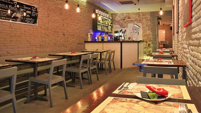 Sala acogedora - Mexcla, Barcelona