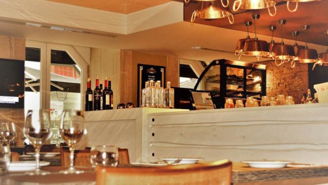 Vista da sala - Restaurante Ouro Snack & Steak, Lisboa