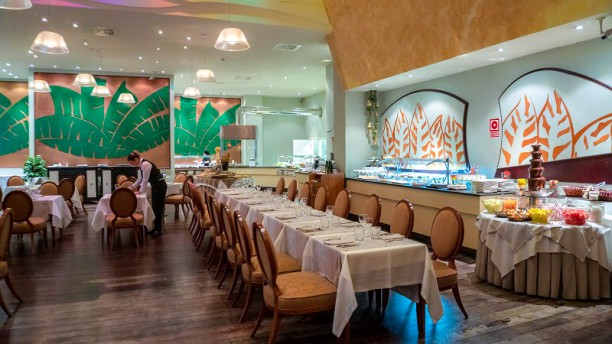 Restaurante Gran Casino Aranjuez Vista del interior