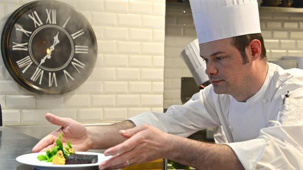 La Rôtisserie d'Argent chef