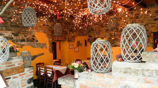 Trattoria Pizzeria Ristorante in Borgovico Vista sala