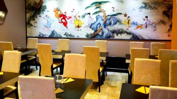 Jardin du Bambou Vue de la salle