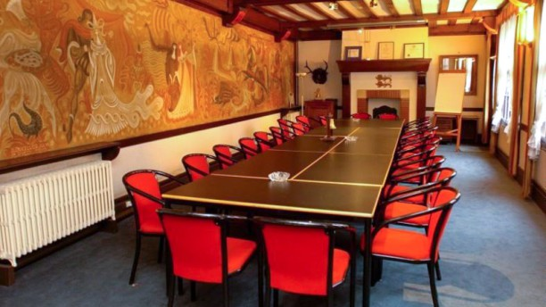 Normandy Hôtel Vue de la salle