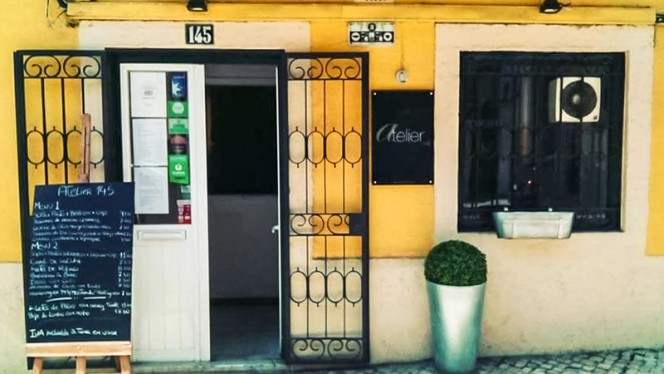 Fachada Restaurante - Atelier 145, Lisboa