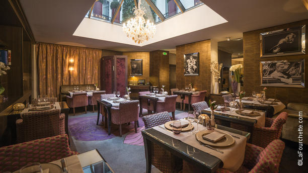 Le Keller - Hôtel Champs-Elysées Plaza Salle du restaurant