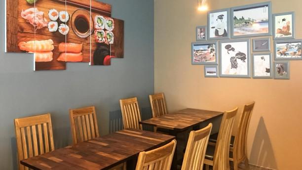 Katana Sushi Salle du restaurant