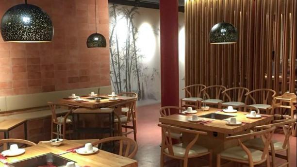 Chongqing Liuyishou Hotpot Vista del interior