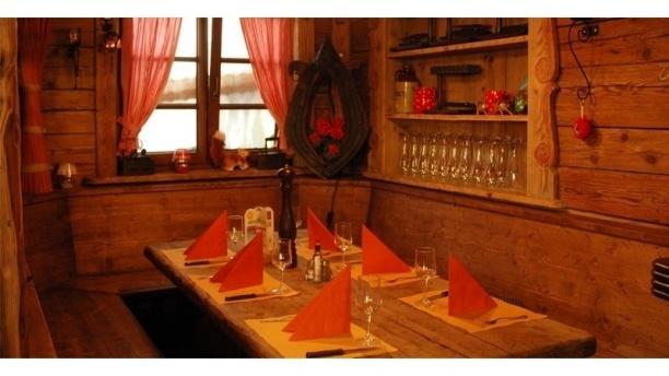 La Cantina Chez Marco Table dressée