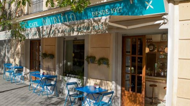 Murillo Café Vista terraza