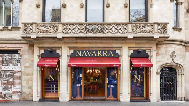 Navarra Fachada Restaurante Navarra